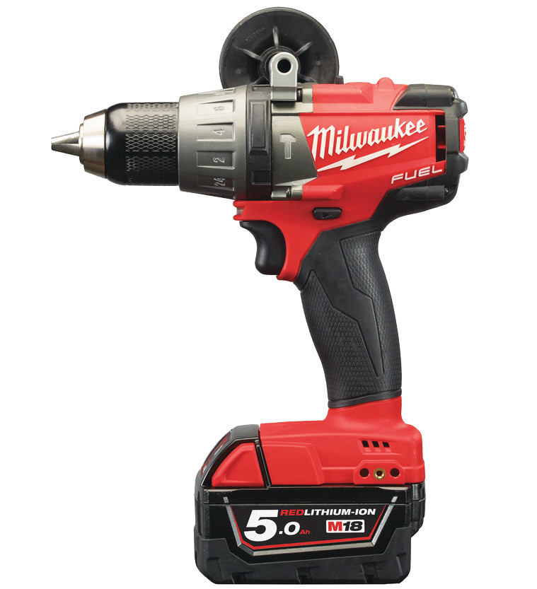 Milwaukee M18 FPD-502C Koolborstelloze Accu Klopboormachine 18v 5,0Ah  - 4933451061