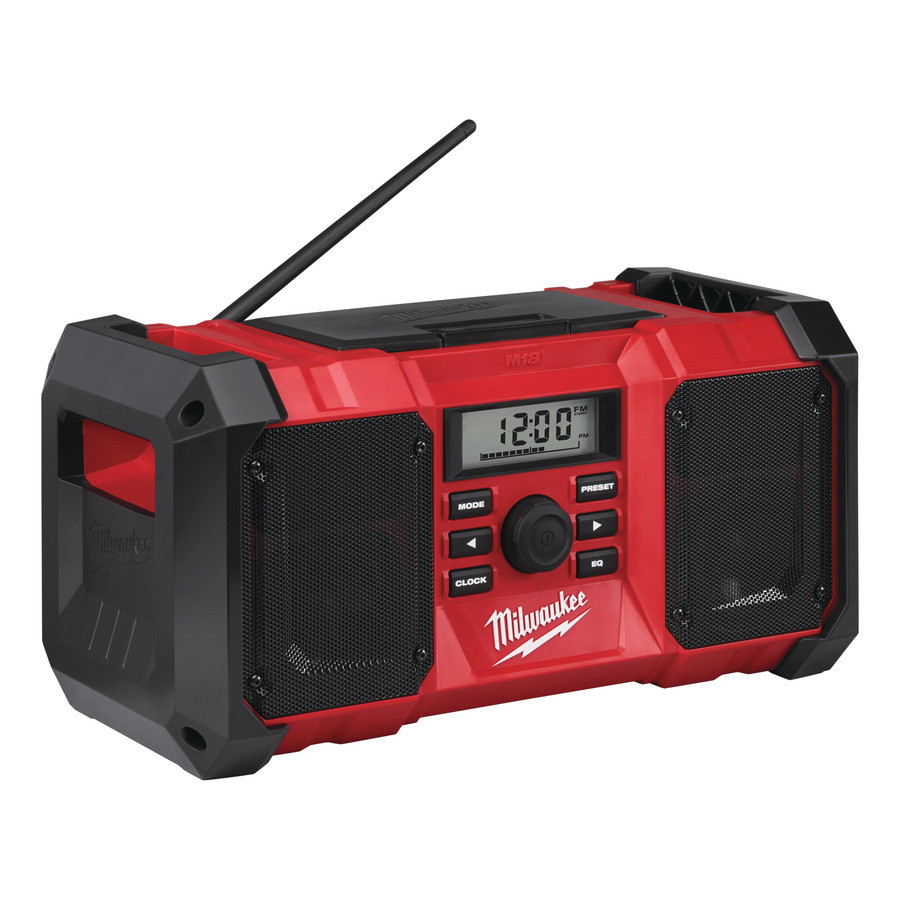 Milwaukee M18 JSR-0 Bouwradio body 18V Li-Ion AM/FM - 4933451250