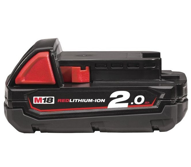 Milwaukee M18 B2 Accu (18 V / 2.0 Ah Li-Ion) - 4932430062