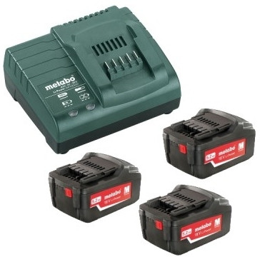 Metabo Basis-set 3x 18 volt 5.2Ah accu's | Pick+Mix - 685048000