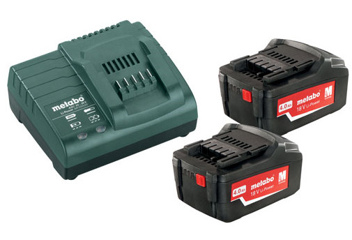 Metabo Basis-set 2x 18 volt 4.0Ah accu's | Pick+Mix - 685050000