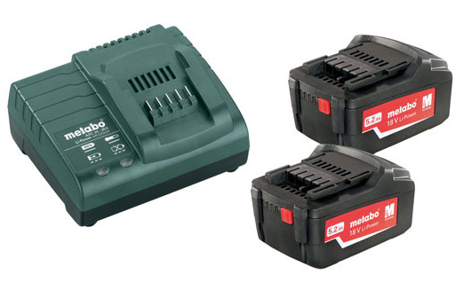 Metabo Basis-set 2x 18 volt 5.2Ah accu's | Pick+Mix - 685051000