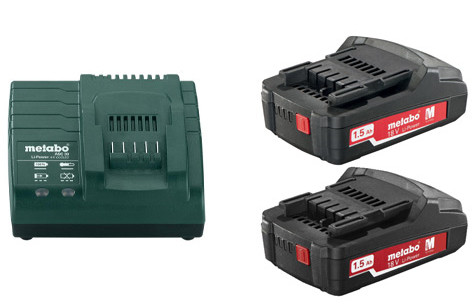 Metabo Basis-set 2x 18 volt 1.5Ah accu's | Pick+Mix - 685052000