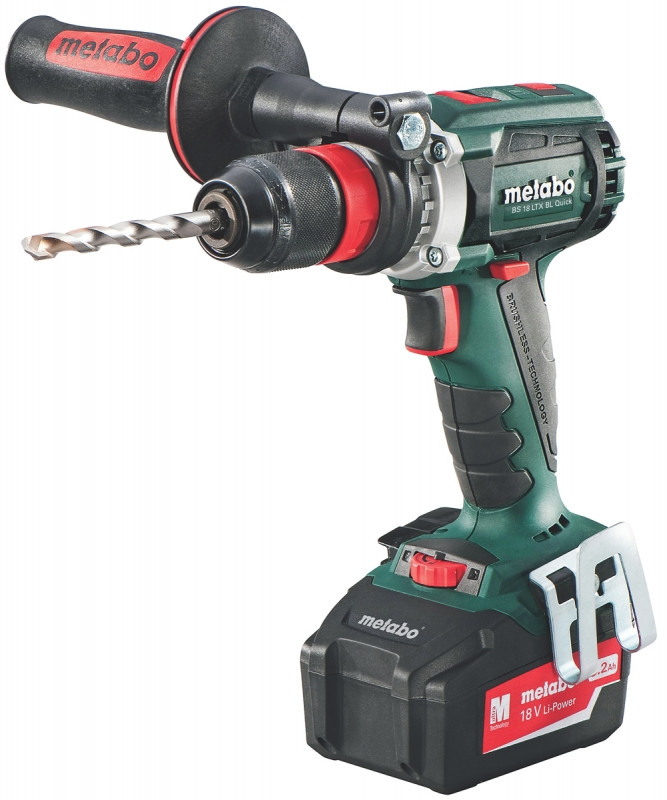 Metabo BS 18 LTX Quick accu boormachine | 18v 5.2Ah