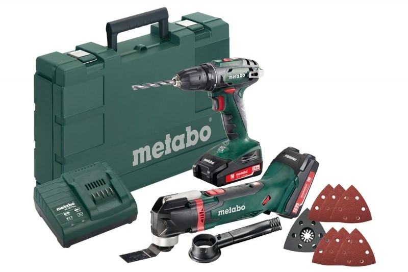 Metabo BS 18 accuboormachine en multitool MT18 Combo set 2.6.1 - 685081000