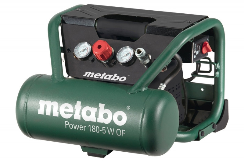 Metabo POWER 180-5 W OF compressor | 5Ltr 8bar - 601531000
