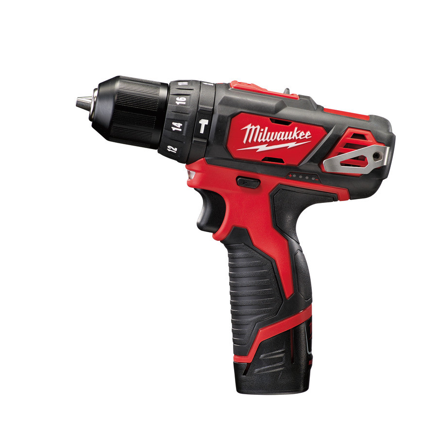 Milwaukee M12 BPD-202C subcompact-slagboormachine | 2.0Ah