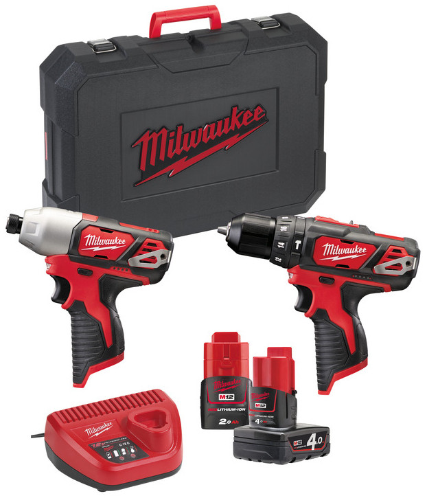 Milwaukee M12 BPP2B-421C powerpack | 2.0-4.0Ah - 4933443497