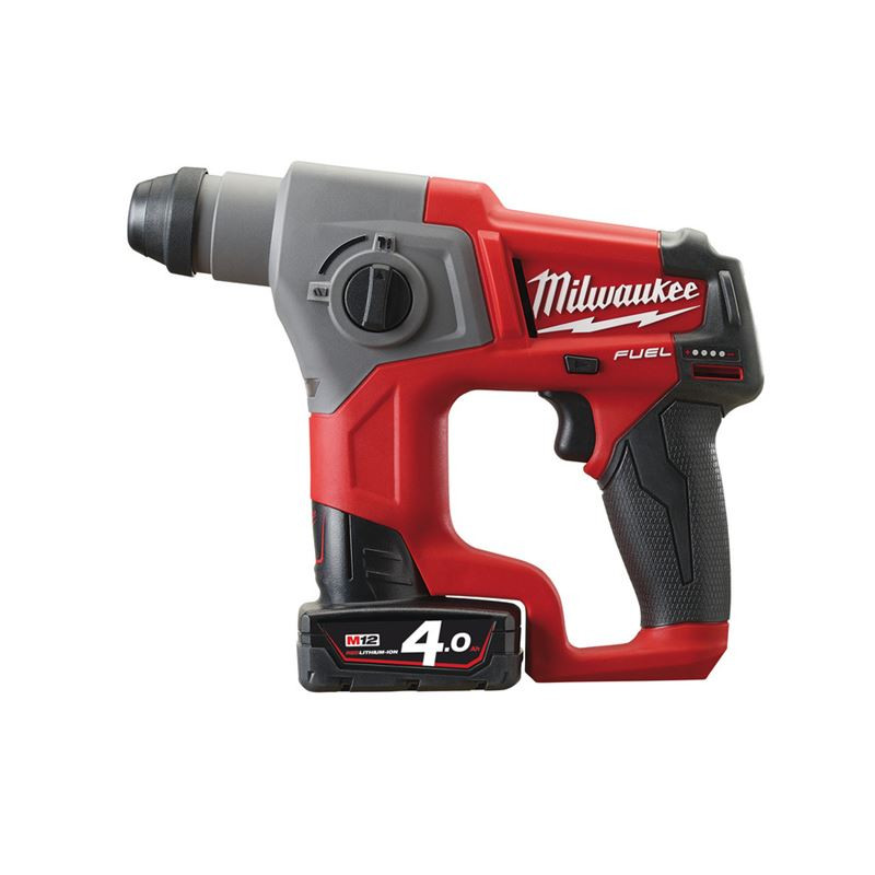 Milwaukee M12 CH-402C FUEL SDS-plus boorhamer | 4.0Ah