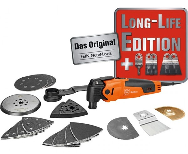 Fein Multimaster FMM 350 Q Long-life edition | + extra E-Cut zaagbladen - 72294275000