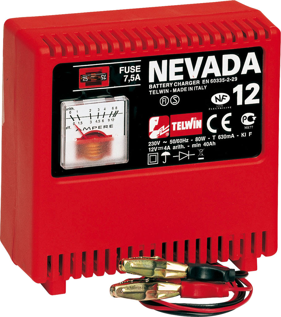 Telwin Nevada 12 Draagbare electrische acculader