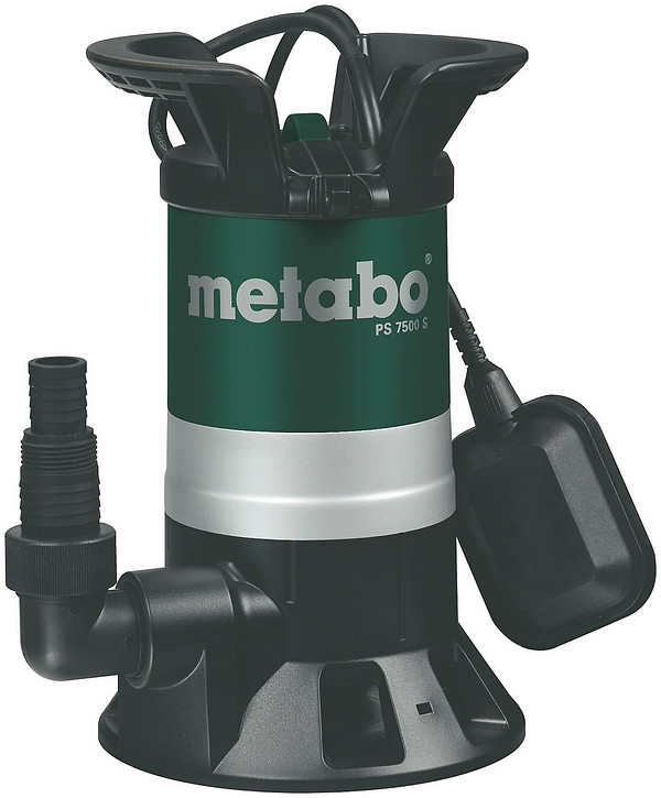 Metabo Vuil water dompelpomp PS 7500 S - 0250750000