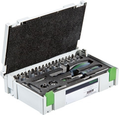 "Festool Ratel-set 1/4""-CE RA-Set 37 - 497881"