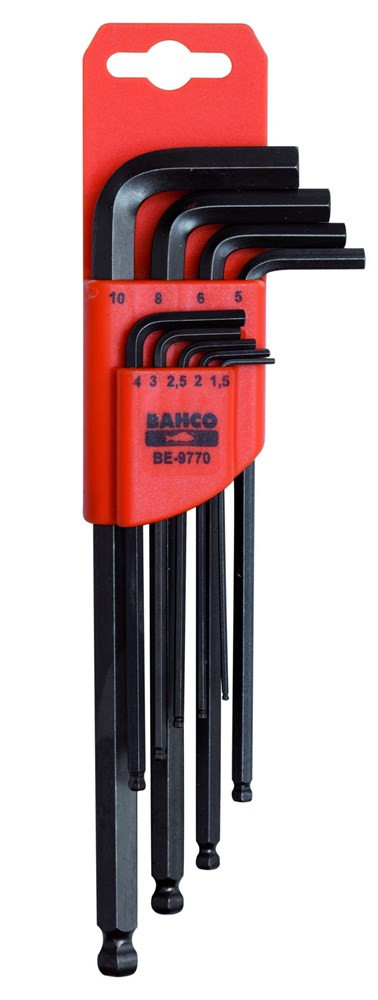 Bahco inbussleutelset 1.5 - 5 mm | BE-9765 - BE-9765