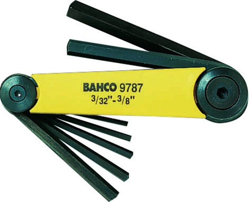 Bahco inbussleutelset 3-32 - 3-8 | BE-9787 - BE-9787