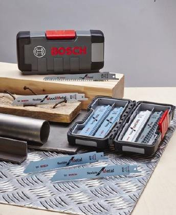Bosch Accessoires 20-delige set reciprozaagbladen Hout / metaal in ToughBox