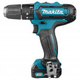 Makita HP331DSAE Klopboor-/schroefmachine | 10,8v 2.0Ah Li-ion schuifaccu in M-box