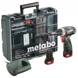 Metabo Accu boorschroefmachine 10.8 Volt PowerMaxx BS Basic Mobile Workshop