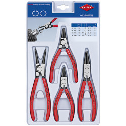 Knipex Borgveertangen set type 44 + 46 4-delig