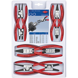 Knipex Borgveertangen set type 44 + 46 8-delig