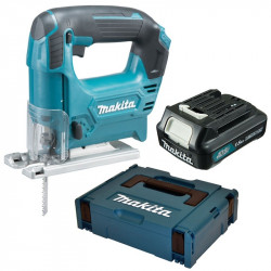 Makita JV101DY1J 10,8 V Decoupeerzaag D-greep | 1x 1.5Ah accu, in Mbox