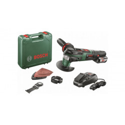 Bosch Groen AdvancedMulti 18 18V Li-Ion accu Multitool set in koffer met 1 x 2,5Ah accu