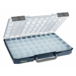 Raaco Organizer | Carry Lite | 57 x 413 x 330 mm | 50 Bakjes