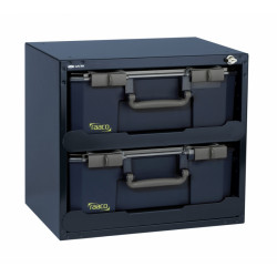 Raaco Safe Box | Carry Lite | 403 x 451 x 330 mm | Met 2 organizers