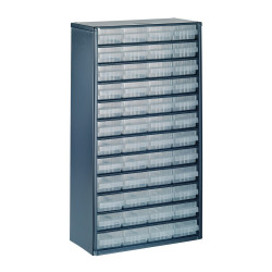 Raaco Kast met 48 laden, type 150-01, 1248-01