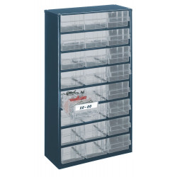 Raaco Kast met 24 laden, type 150-02, 1224-02