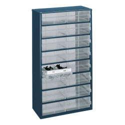 Raaco Kast met 16 laden, type 150-04, 1216-04