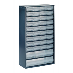 Raaco Kast met 40 laden, type 150-01/02/03, 1240-123