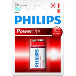 Philips Philips Powerlife 9 volt 6LR61 E bl.a1