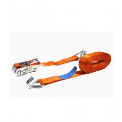 LITTLE JUMBO SJORBAND 35MM. RATEL ORANJE 6.0M MET J-HAKEN