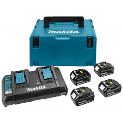 Makita Accessoires Accu laadset DC18RD/4XBL1840