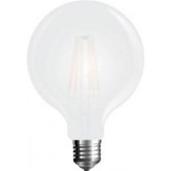 V-Tac  LED filament Globe G125 E27 warm wit 7W MAT