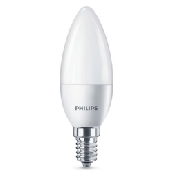 Philips LED lamp E4 4W 250Lm kaars mat 4 stuks