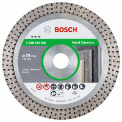 Bosch Accessoires Diamantdoorslijpschijf Best for Hard Ceramic, 76 x 10 x 1,9 x 10mm - 2608615109