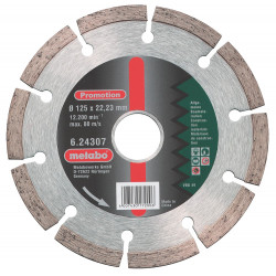Metabo accessoires Diamantschijf Promotion Ø 115x22,23 mm