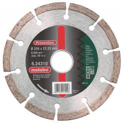 Metabo accessoires Diamantschijf Promotion Ø 230x22,23 mm
