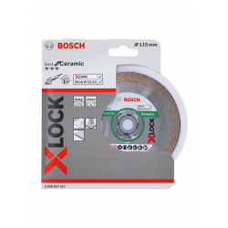 Bosch Accessoires X-LOCK Diamantschijf Best for Ceramic 115 x 22,23 x 1,6 x 10 mm - 1 stuk(s)