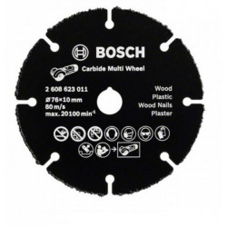 Bosch Accessoires Slijpschijf Carbide Multi Wheel , 76mm
