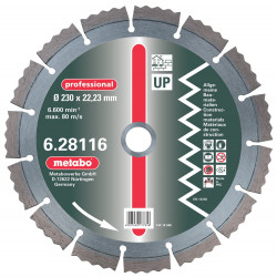 Metabo accessoires Diamantschijf 230x22,23 mm UP