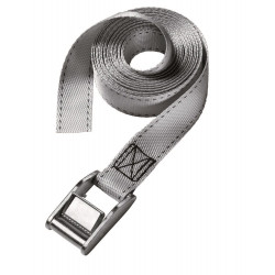 Masterlock Set of 2 lashing straps 2,50m - colour : grey