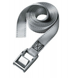 Masterlock Single pack lashing strap 2,50m - colour : grey