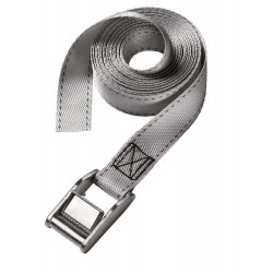 Masterlock Single pack lashing strap 5m - colour : grey