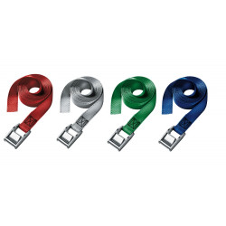 Masterlock Single pack lashing strap 5m assorted colors : blue + green + red