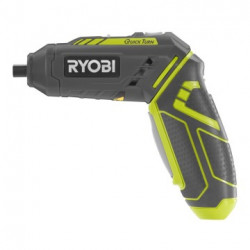 Ryobi R4SDP-L13T 4V Li-Ion Schroevendraaier in transparent cover zipper case