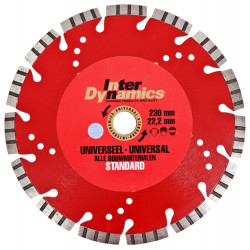 Inter Dynamics Diamantzaag Universeel Standard+ 125x22,2mm