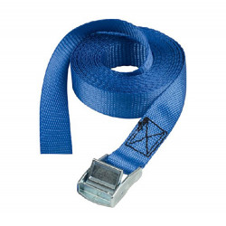 Masterlock Lashing straps 2,50m - colour : blue